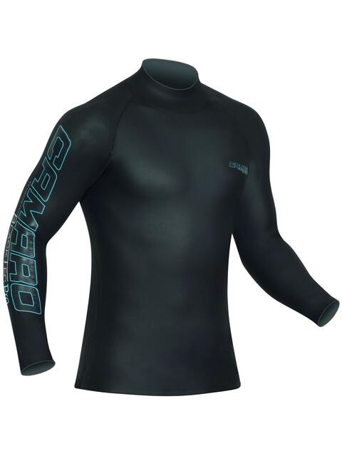 Camaro Blacktec Langærmet T-shirt sort